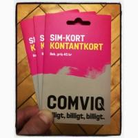 Шведские стартовый пакеты Comviq