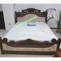 Кровать Карена из массива дерева