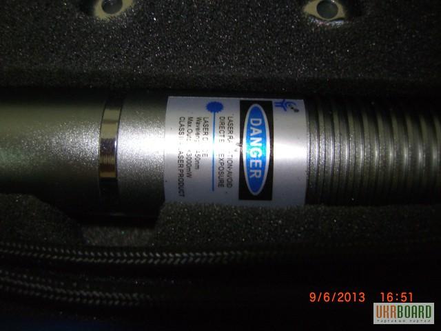 Фото 2. Мощный УФ синий лазер 1000 мВт. ЛАЗЕРНАЯ УКАЗКА В008