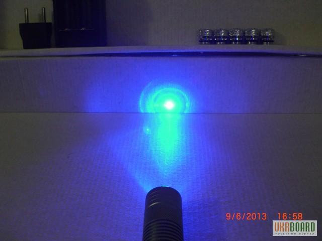 Фото 4. Мощный УФ синий лазер 1000 мВт. ЛАЗЕРНАЯ УКАЗКА В008