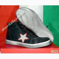 Кеды детские кожаные фирмы Giunior оригинал из Италии#65279; 31-36
