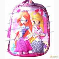 Яркий рюкзак школьный 3D супер качество. Выбирай. Покупай