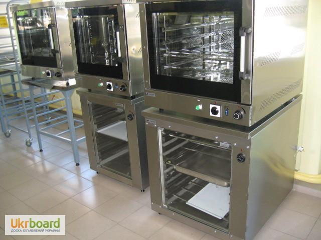 Фото 11. Конвекционная печь (конвектомат) на 2-18 уровней.Газовый и электрический с пароувлажнением