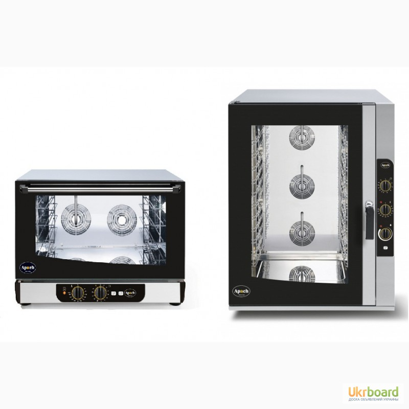 Конвекционная печь (конвектомат) на 2-18 уровней.Газовый и электрический с пароувлажнением