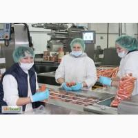 Расфасовщицы - упаковщицы мясных изделий на работу на мясокомбинат (Польша)