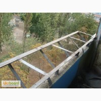 Балконы с выносом Киев, Изготовление балконов с выносом в Киеве