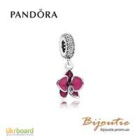 Оригинал PANDORA шарм орхидея 791554EN69