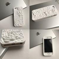 Чехол силиконовый 3D «Роза» на iPhone5/5S
