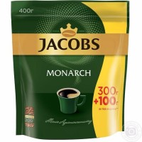 Jacobs Monarch Эконом пакет 400гр. Якобз Монарх 0, 400гр