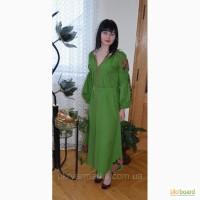 Стильне вишите плаття бохо