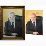 Внимание! Как сделать солидный подарок Закажите портрет маслом