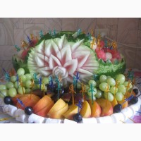 Эксклюзивные детские фруктовые подарки с элементами карвинга