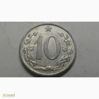 Чехословакия 10 геллеров 1969 год СОСТОЯНИЕ
