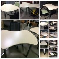 Стол-конструктор. Столы новые. Изготавливаются под заказ. Выбор цветов