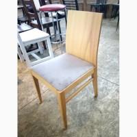 Стул б/у дерево мягкое сиденье, стулья для кафе, ресторана
