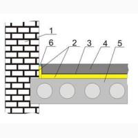 Плавающий пол-звукоизоляция междуэтажных перекрытий