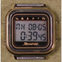 Часы ЭЛЕКТРОНИКА ЧН-01 с АЦНХ 5 мелодий арт.1126