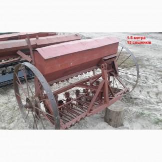 Сеялка 1.5-3.0 м для мини трактора Польша б/у б/у