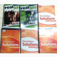 Продам Solution, Real Life, Challenges, Academy Stars, New English File, Next Move и др