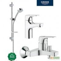 Набор для ванной комнаты Grohe BauFlow 3в1 Германия
