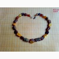 Лечебные бусы из «живого», необработанного янтаря