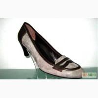 Женские туфли удобные на среднем каблуке. Распродажа по оптовым ценам.