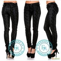 Велюровые джинсы новинка