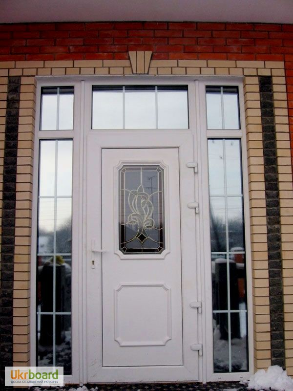 дверь пвх входная металлическая