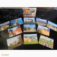 Коллекционные открытки! Замки.Дворцы Украины