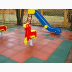 Резиновое покрытие для спортивных и детских площадок