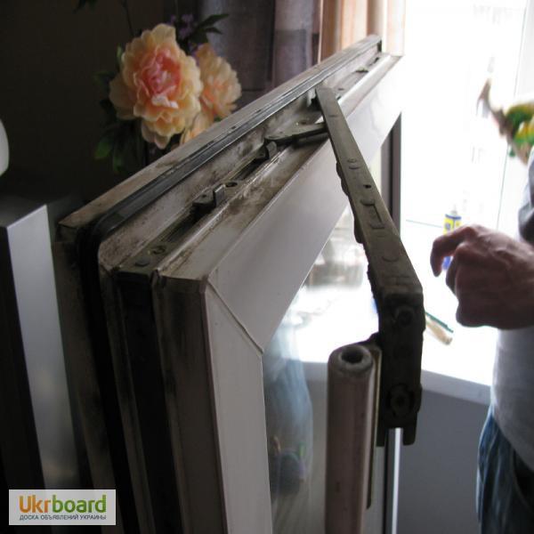 Фото к объявлению: установка, ремонт м. п окон, дверей. одес.
