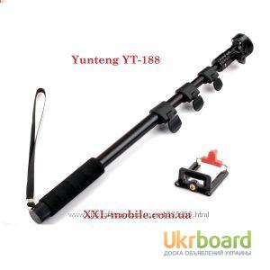 Монопод селфи палка Yunteng YT-188 Держатель выдвижной Монопод селфи палка Yunteng YT-188