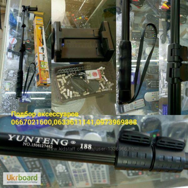 Фото 3. Монопод селфи палка Yunteng YT-188 Держатель выдвижной Монопод селфи палка Yunteng YT-188