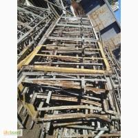 Стеллажи с уголка 35, 10 тон, демонтированы, на складе в г.Киеве