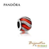 Шарм PANDORA красный шарм 791991EN07