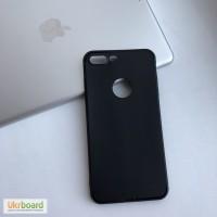 Силиконовый матовый чехол на iPhone 7plus