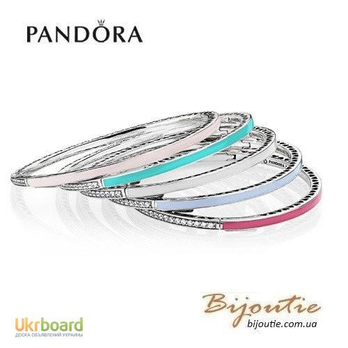 PANDORA | Жесткий браслет- бэнго из золота 585