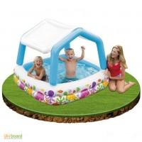 Детский надувной бассейн Intex «Аквариум»