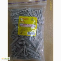 Дюбель-Ёлочка для плоского провода/кабеля до 6мм 100 шт