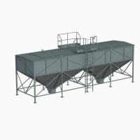 Склад топлива для пеллет СТ 40 м3