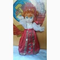 Редкая кукла СССР - 35 см. Лялька, винтаж, сувенир, коллекция, подарок