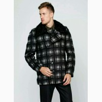 Пальто John Richmond Италия ангорская шерсть Дешевле на 38000