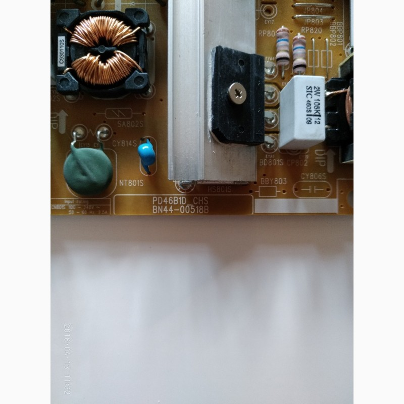 Фото 3. Блок питания BN44-00518B PD46B1D_CHS для телевизора UE40ES6100W