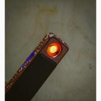 Зажигалка электронная usb плазменная подарок для сигареты