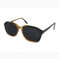 Перфорационные очки-тренажеры Лазер Вижн (Laser Vision очки, очки с дырочками)