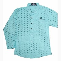 Стильные рубашки для мальчиков, Турция, возраст 2-5 лет, цвета разные
