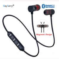Беспроводные(безпроводные) Bluetooth наушники магнитные, водостойкие 5 часов реально