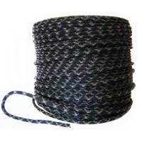 Шнур страховочный статический d11мм (черный)