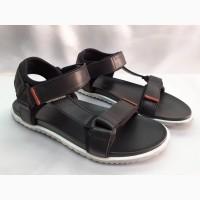 Кожаные мужские сандалии на липучках, спорт, комфорт Bertoni 40, 41, 42, 43, 44, 45р