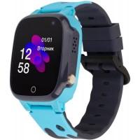 Смарт-часы Discovery iQ4600 Camera Blue Детские часы-телефон трекер, Детские умные часы